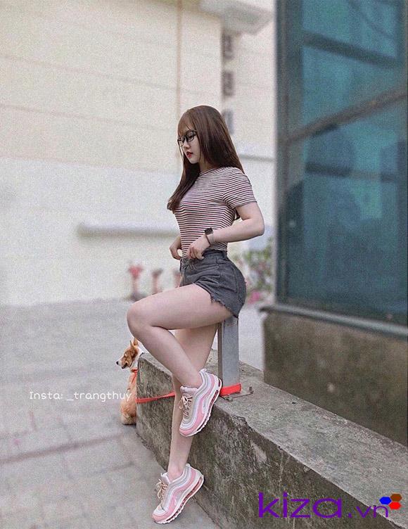 Giày Nike Air Max 97 hồng nữ