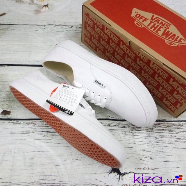 Giày vans classic trắng nữ