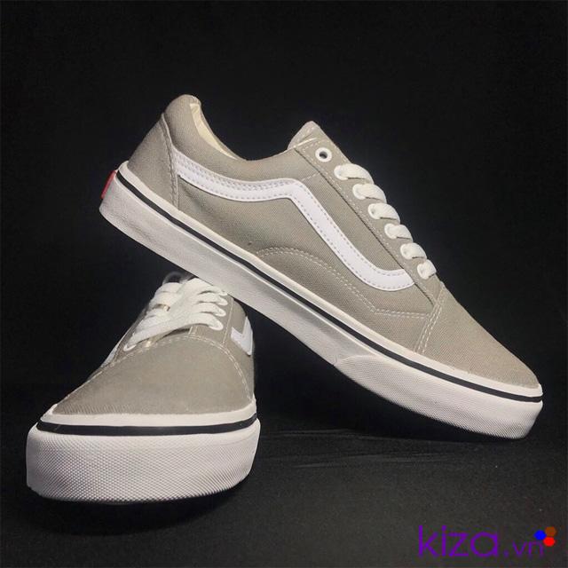 Giày vans old skool màu xám ghi