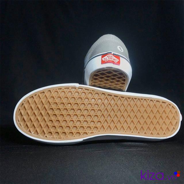Team gót giày vans old skool màu xám
