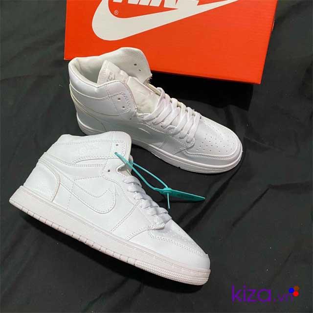 Jordan 1 trắng full 2020