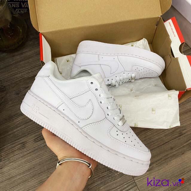 giày nike Airforce trắng