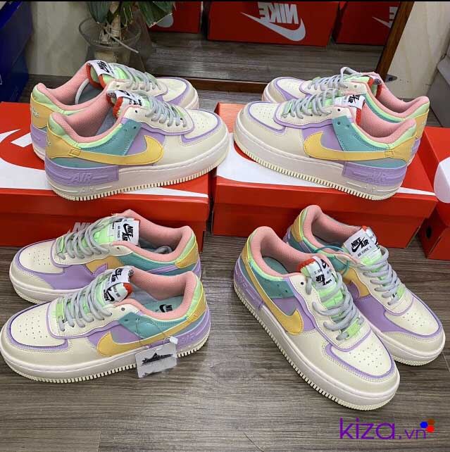 Nike Airforce Shadow bảy màu