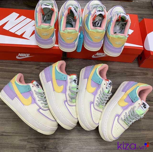 Giày nike Airforce bảy màu