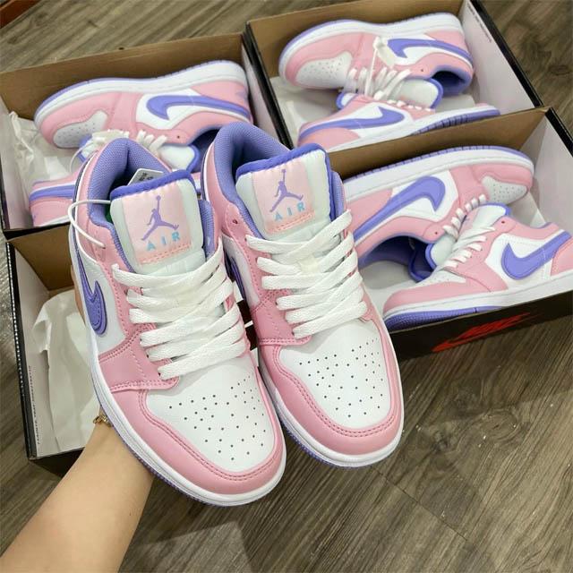 Giày nike nữ jordan hồng phấn