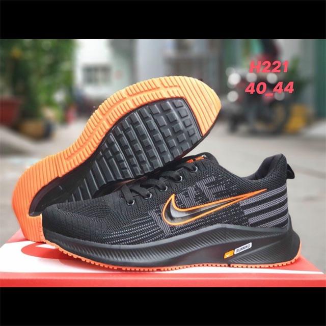 Nike Running đen cam