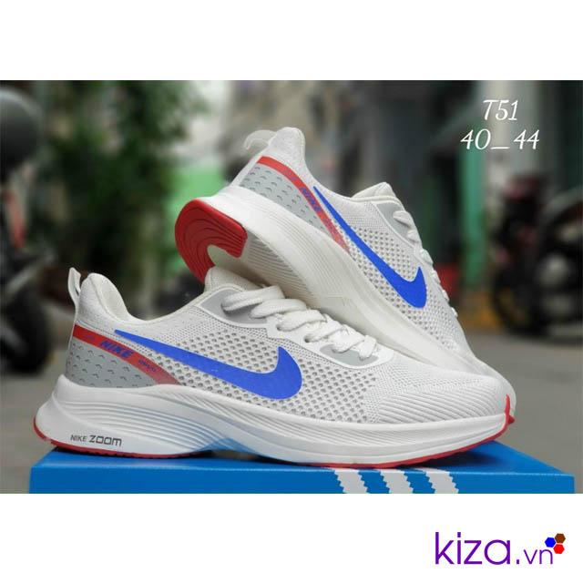 Giày Nike Zoom Trắng Xanh Nam