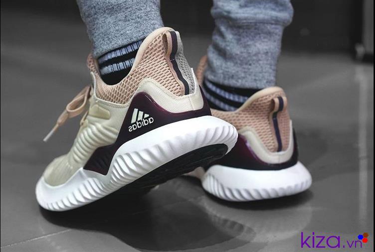 Giày Adidas Alpha Bouncr kem giá rẻ