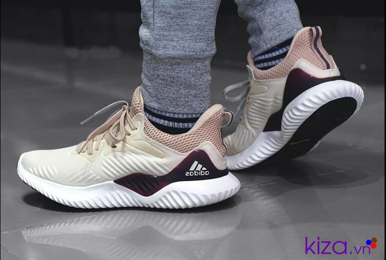 Giày Adidas Alpha Bounce kem