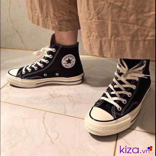 Giày 70S đen cổ thấp rep