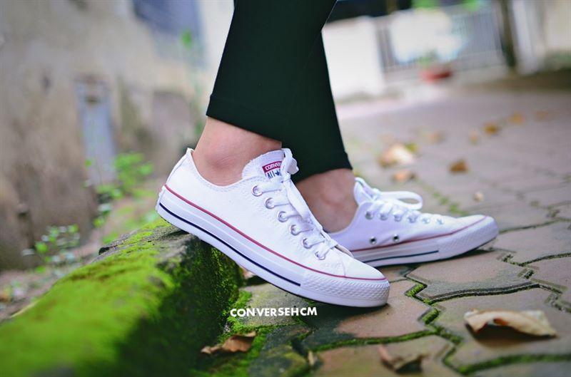 mua giày converse côt thấp màu trắng