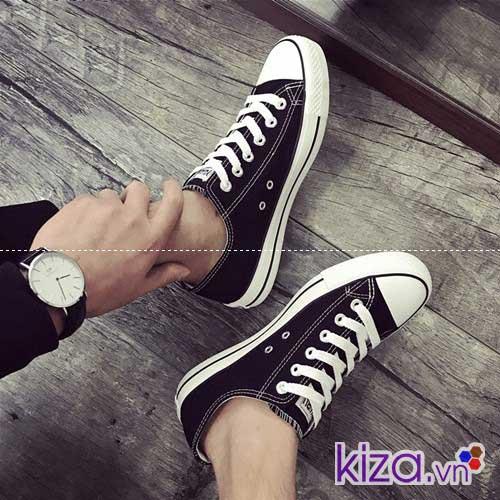Mua giày converse nam màu đen cổ thấp