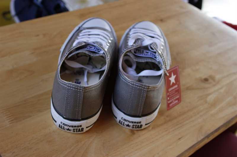Giày converse classic thấp cổ màu ghi 2