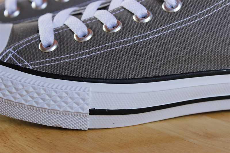 Giày converse classic thấp cổ màu ghi 1