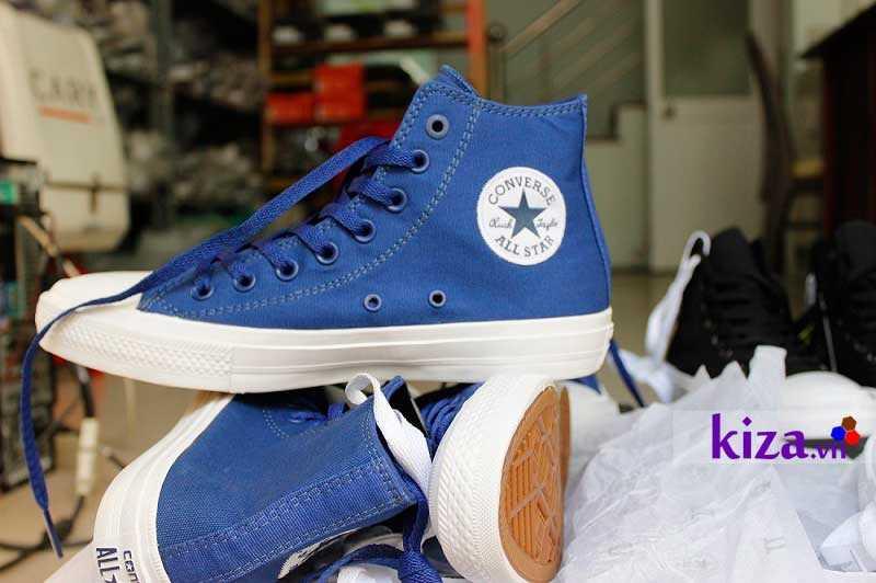 converse chuck 2 màu xanh