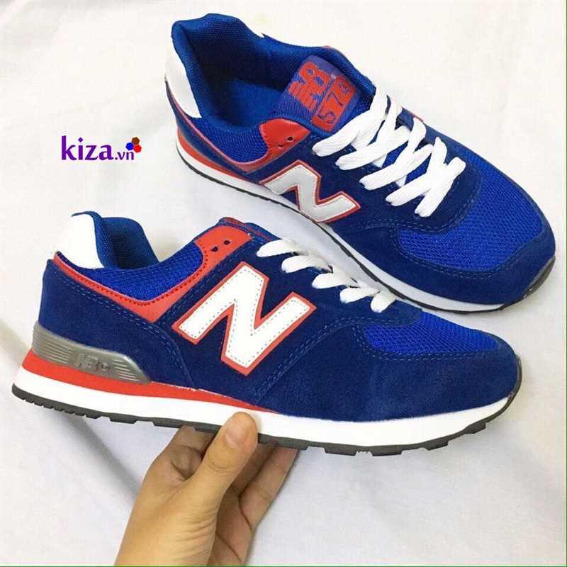 Giày New Balance 574 màu xanh cô ban 1