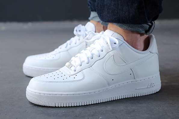 giay nike air force one all white 1