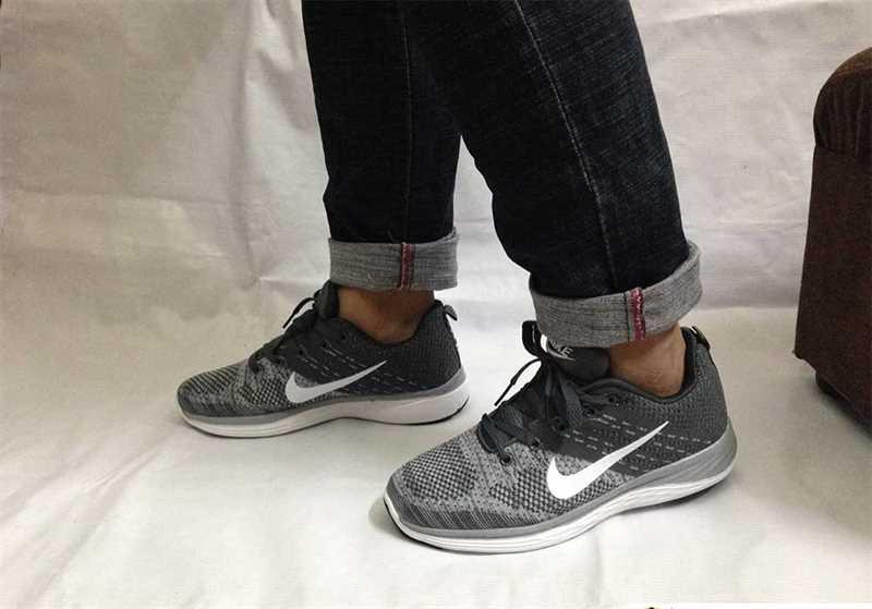 Giày Nike Luna phối màu Xám trắng 002