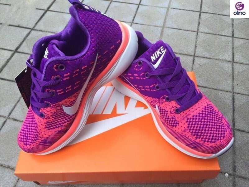 Giày Nike Flyknit Lunar 3 tím hồng 02
