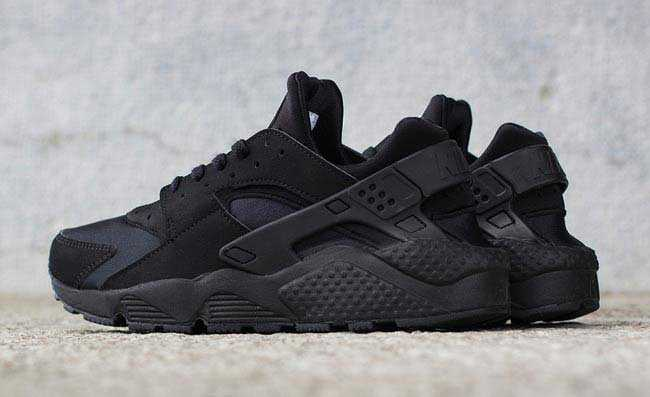 Giày Nike Huarache đen full 22