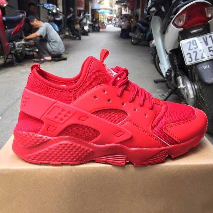 Giày Nike Huarache đỏ full 002