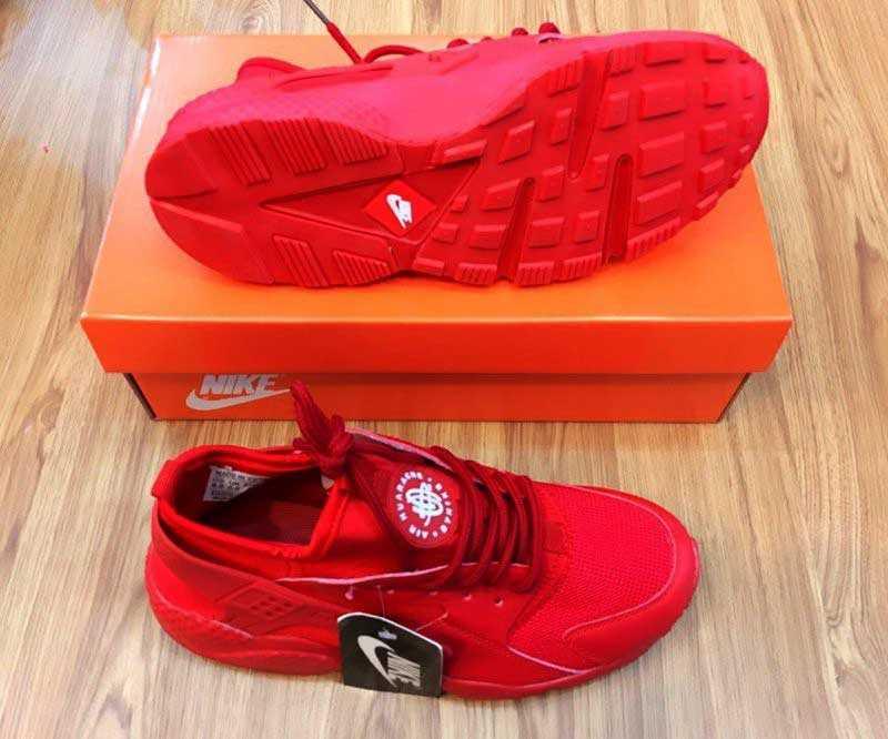 Giày Nike Huarache đỏ full 003