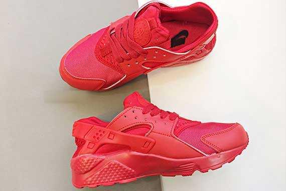Giày Nike Huarache đỏ full 004
