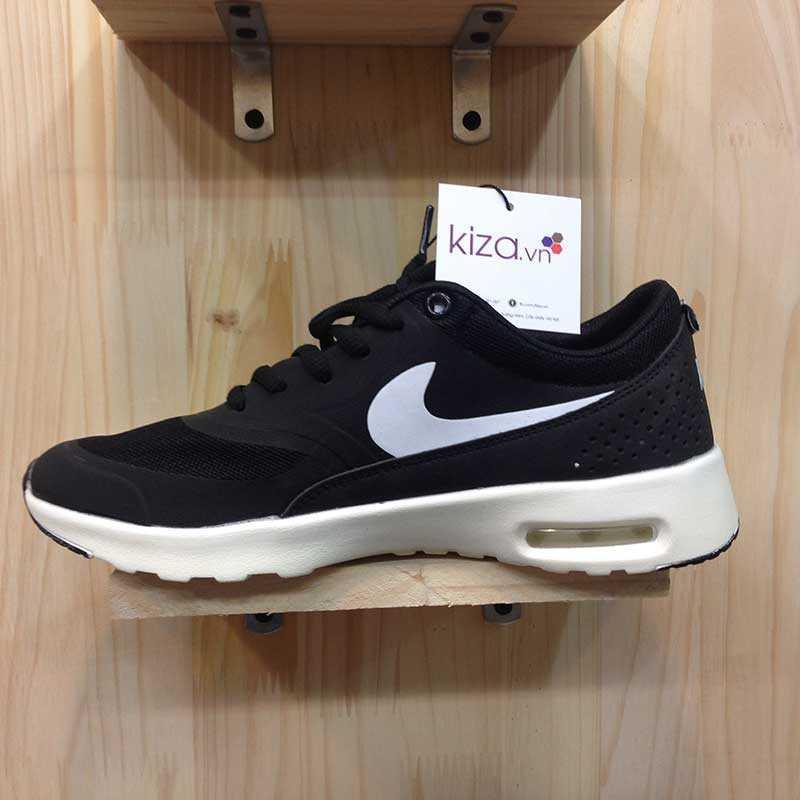 Giày Nike Air Max Thea đen trắng 06