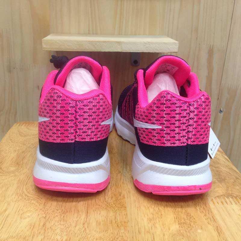 Giày Nike Flyknit phoi mau tim hong trang 011