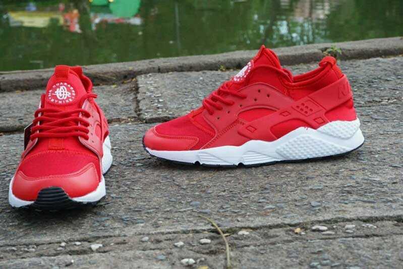 Giày Nike Huarache đỏ trắng 001