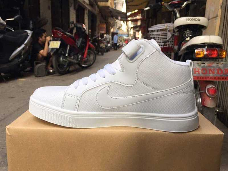 giay nike air force one all white 44