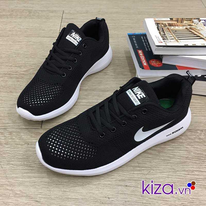 Giày Nike Zoom màu đen4