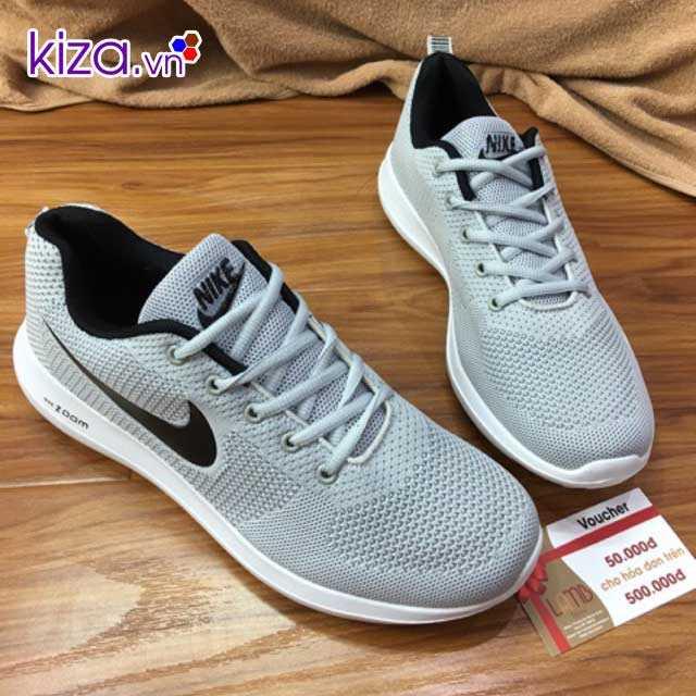 Giày Nike Zoom màu xám 1