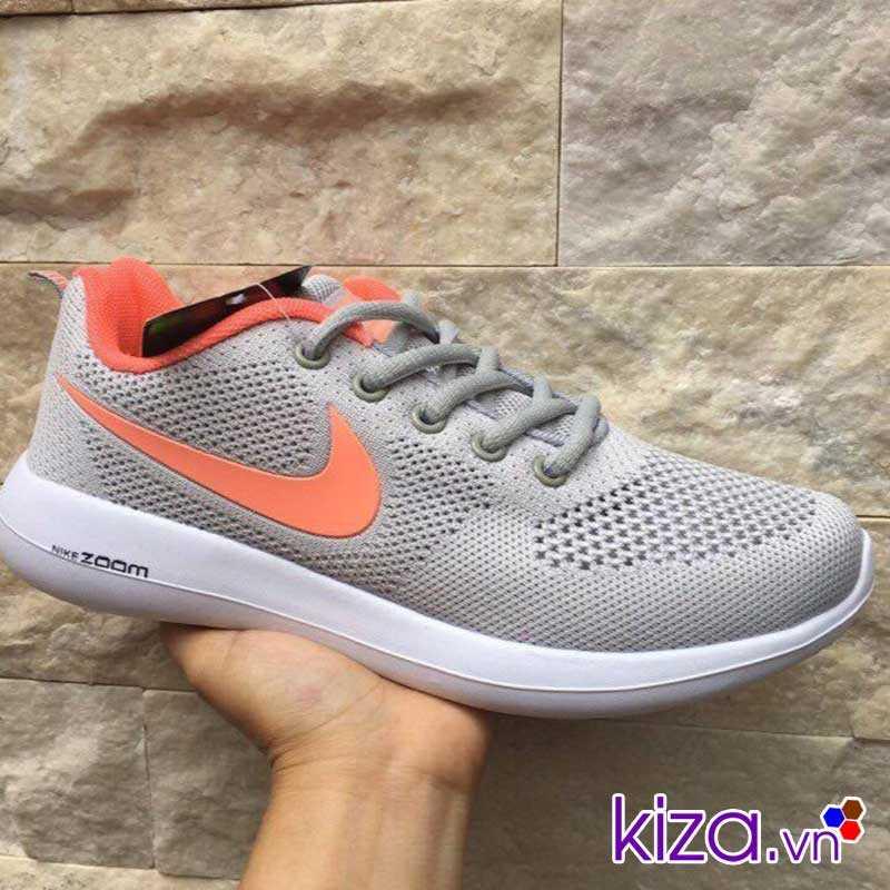 Giày Nike Zoom phối màu xám cam giá rẻ 003