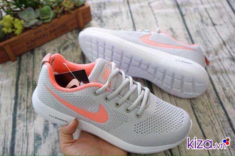 Giày Nike Zoom phối màu xám cam giá rẻ 001