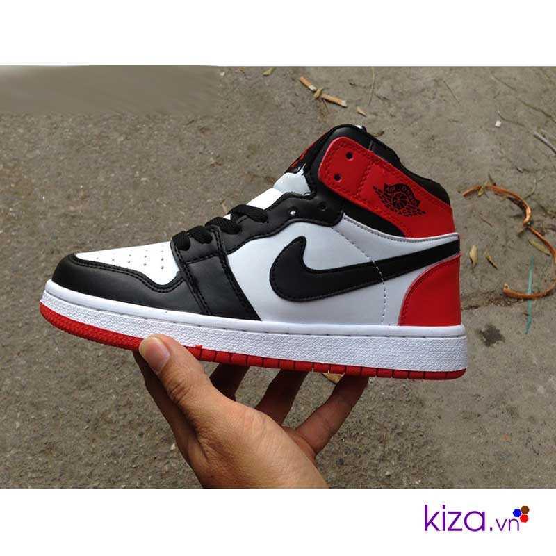 giày nike jordan màu trấng đỏ giá rẻ đẹp 002