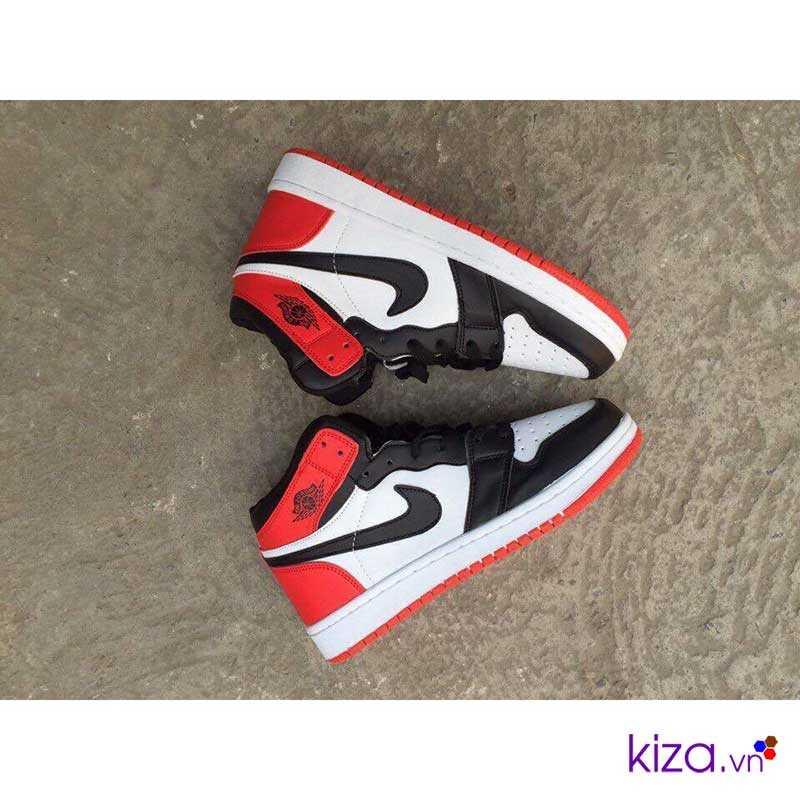 giày nike jordan màu trấng đỏ giá rẻ đẹp 003