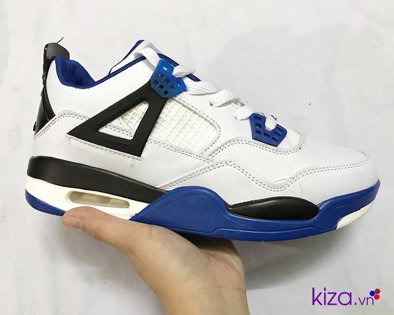 giày nike jordan màu trấng xanh giá rẻ đẹp 004