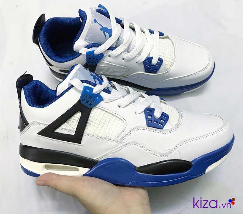 giày nike jordan màu trấng xanh giá rẻ đẹp 002
