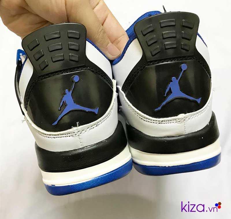 giày nike jordan màu trấng xanh giá rẻ đẹp 005