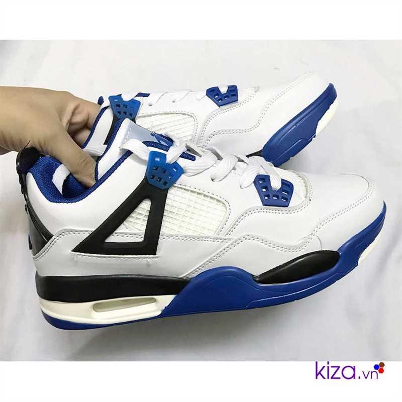 giày nike jordan màu trấng xanh giá rẻ đẹp 001