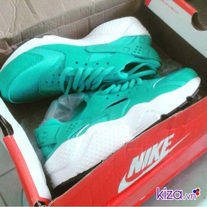 Giày Nike Huarache màu xanh ngọc giá rẻ 004