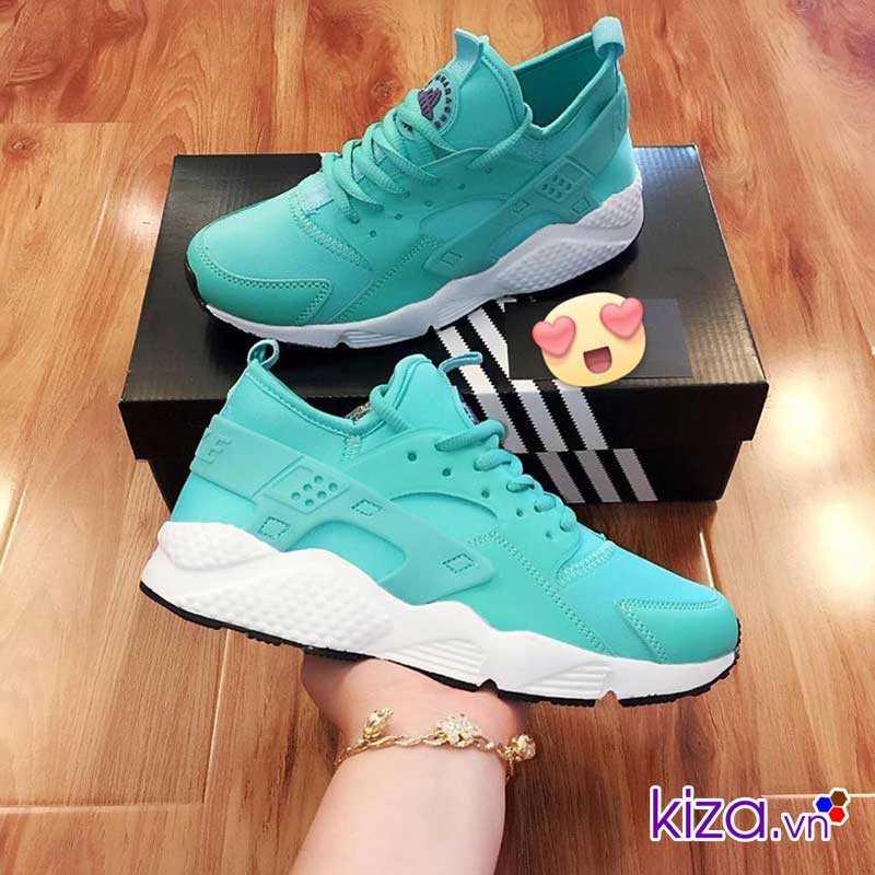 Giày Nike Huarache màu xanh ngọc giá rẻ 001