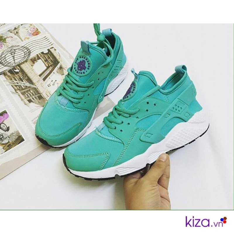 Giày Nike Huarache màu xanh ngọc giá rẻ 003