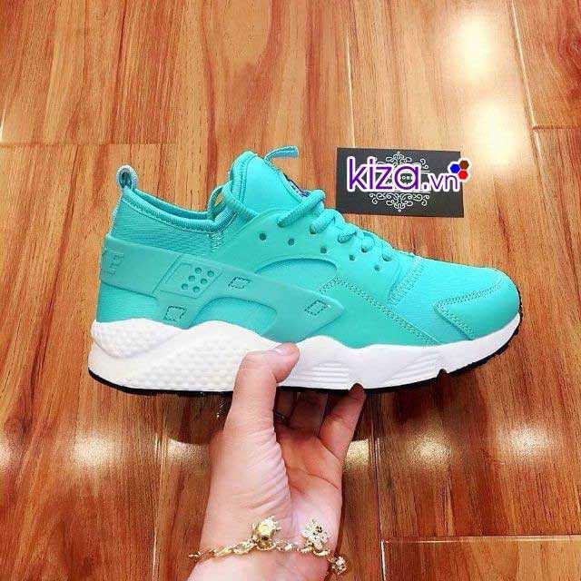 Giày Nike Huarache màu xanh ngọc giá rẻ 002