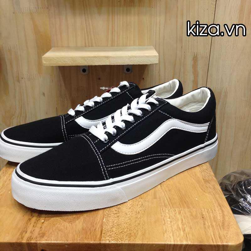 Giày Vans Old Skool phối màu đen trắng 10