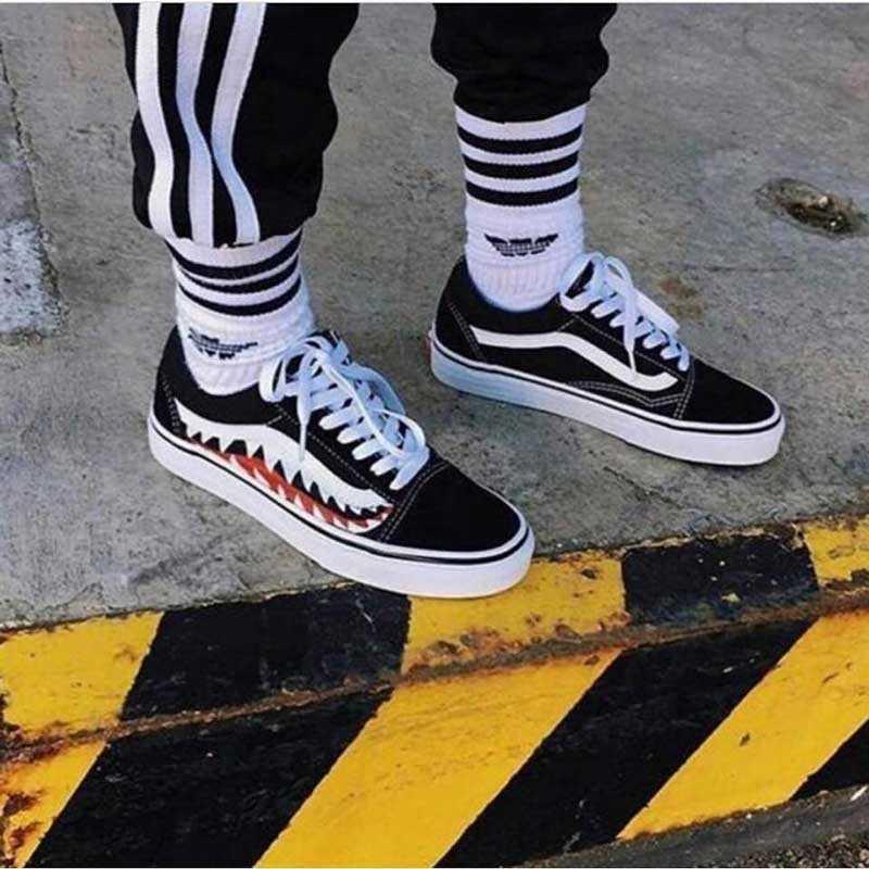 Mua giày vans old skool bape giá rẻ 006