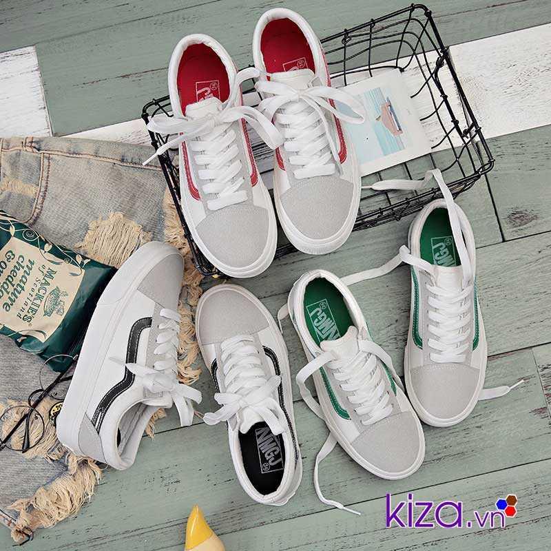 Giày Vans Old Skool phối màu đen trắng 4