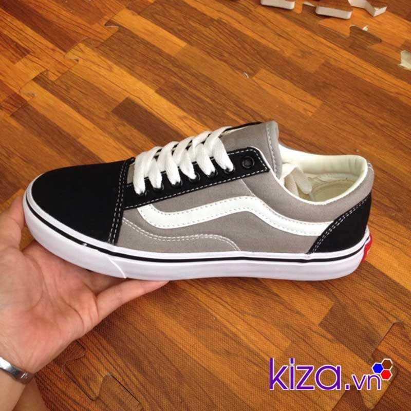 Giày Vans Old Skool màu xám đen 005