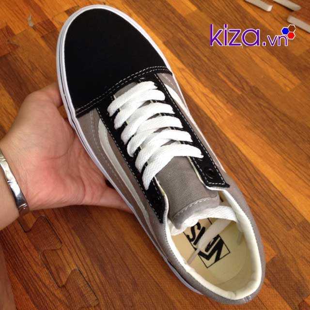 Giày Vans Old Skool màu xám đen 002